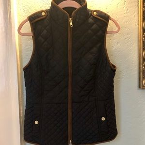 Talbots ladies' quilted riding/ barn vest